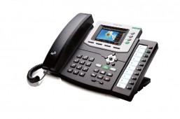 گوشی شبکه هنلانگ Gigabit Color IP Phone UC862